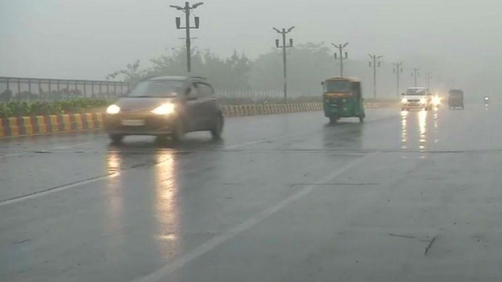 Delhi-NCR received light showers on Sunday