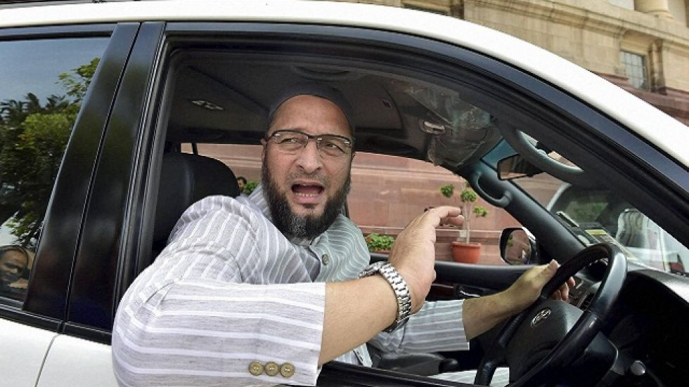 Owaisi on Saturday took a jibe over tussle between the BJP and Shiv Sena to form a government in Maharashtra saying whether '50-50' is a new biscuit in the market.