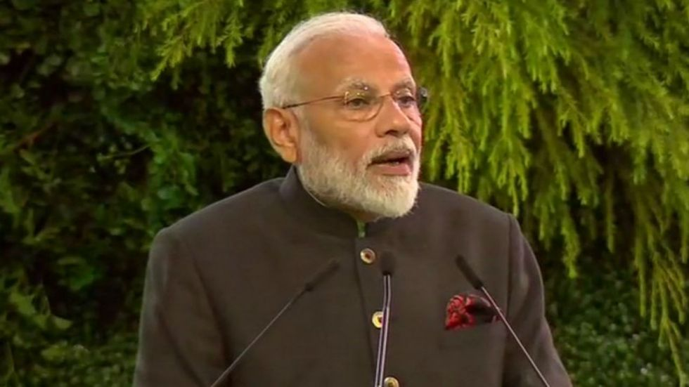 PM Modi was speaking at an event to mark golden jubilee of the Aditya Birla Group's presence in Thailand