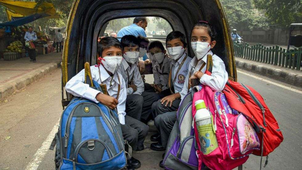 Schools have already been ordered to remain closed till Tuesday in Delhi