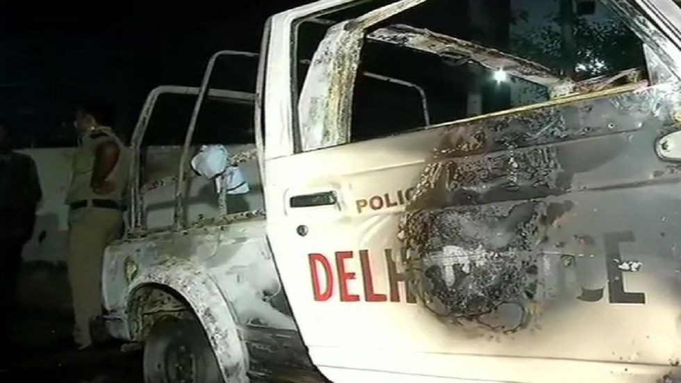 Tis Hazari Court Clash: At least 17 vehicles were vandalised.
