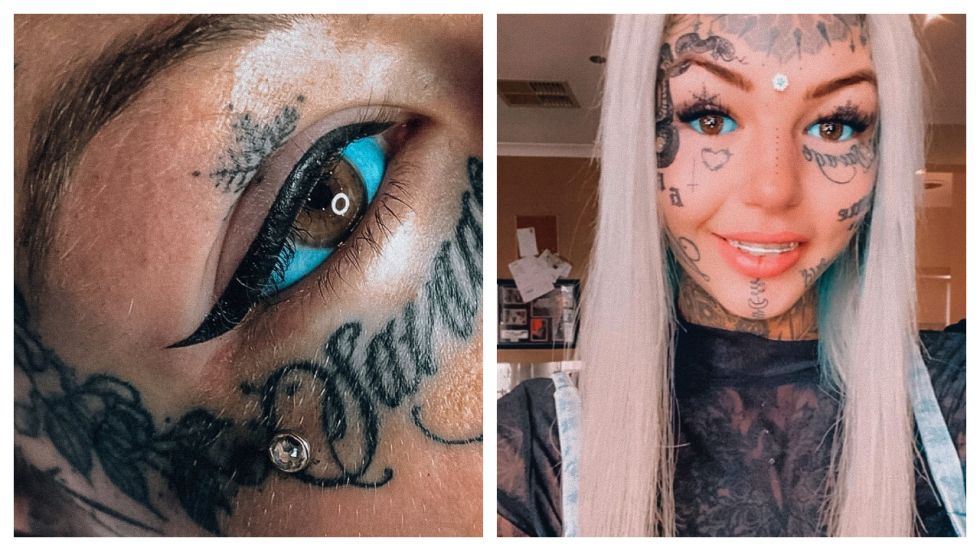 Woman Who Spent More Than Rs 18 Lakhs Tattooing Her Eyeballs Goes Blind
