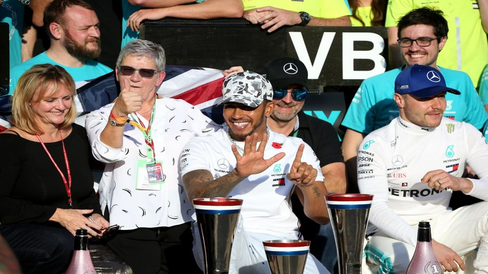 Lewis Hamilton clinched his sixth Formula One title by finishing second in the 2019 US Grand Prix while his Mercedes team-mate Valterri Bottas finished second.
