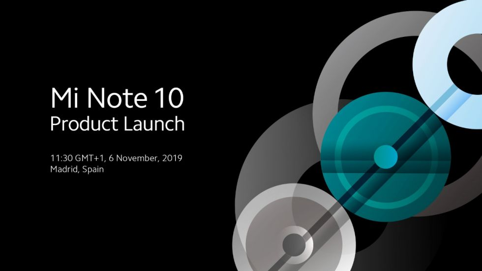 Xiaomi Mi Note 10 With Penta Camera Setup Launch On November 6