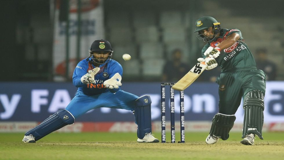 Rishabh Pant struggled with the DRS during the game between India and Bangladesh at the Arun Jaitley stadium.