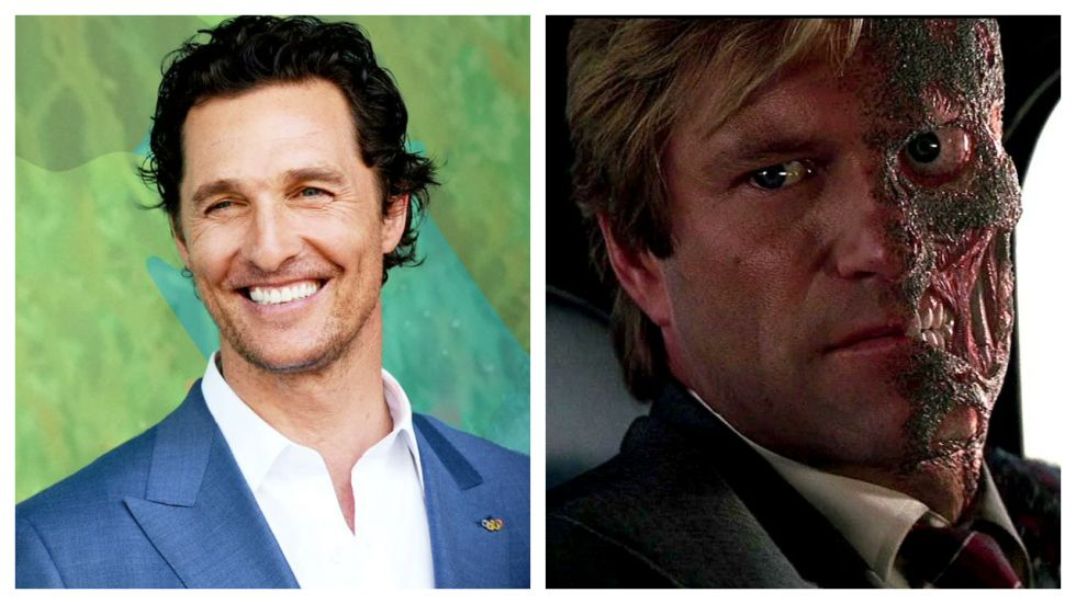 Matthew McConaughey Could Play Two-Face In 'The Batman'