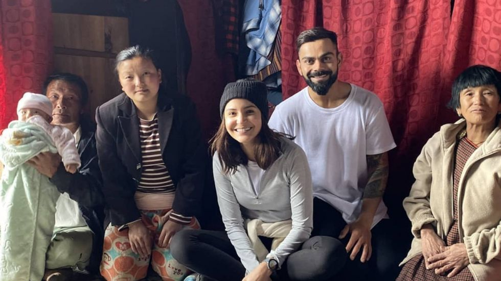 Anushka-Virat Served Tea By Bhutanese Family Unaware Of Who They Are