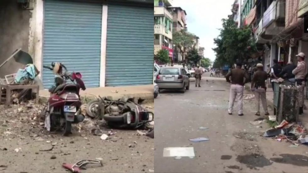 This is the second such blast within last 10 days. On Saturday, three personnel of 120 Border Security Force were seriously wounded.