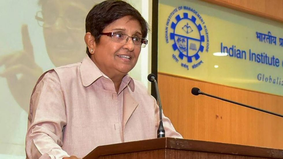 Puducherry Lt. Governor Kiran Bedi