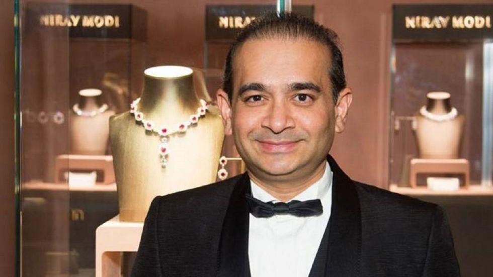 Fugitive diamond merchant Nirav Modi.