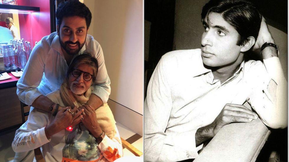 Abhishek Bachchan Has The Heartiest Wish As 'Pa' Amitabh Turns 50 As Actor
