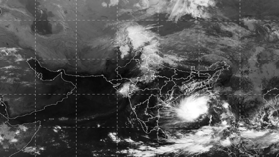 The weatherman said the system is likely to move initially north-northwestwards and then nearly northwards till November 9.