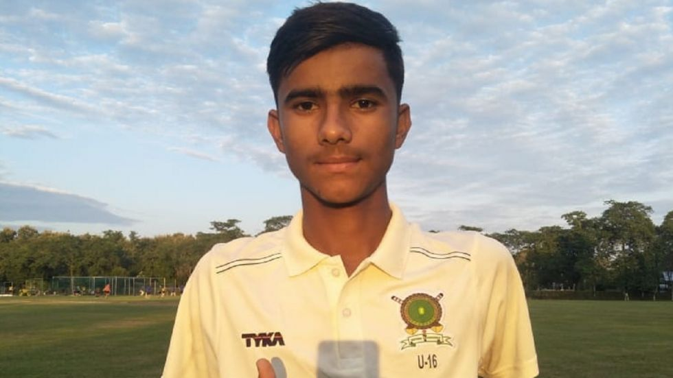 Nirdesh Baisoya has taken all 10 wickets in an innings during the clash between Nagaland and Meghalaya in the Vijay Merchant Under-16 tournament.