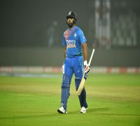 Rohit Sharma Achieves Special Century In Rajkot Twenty20 Vs Bangladesh