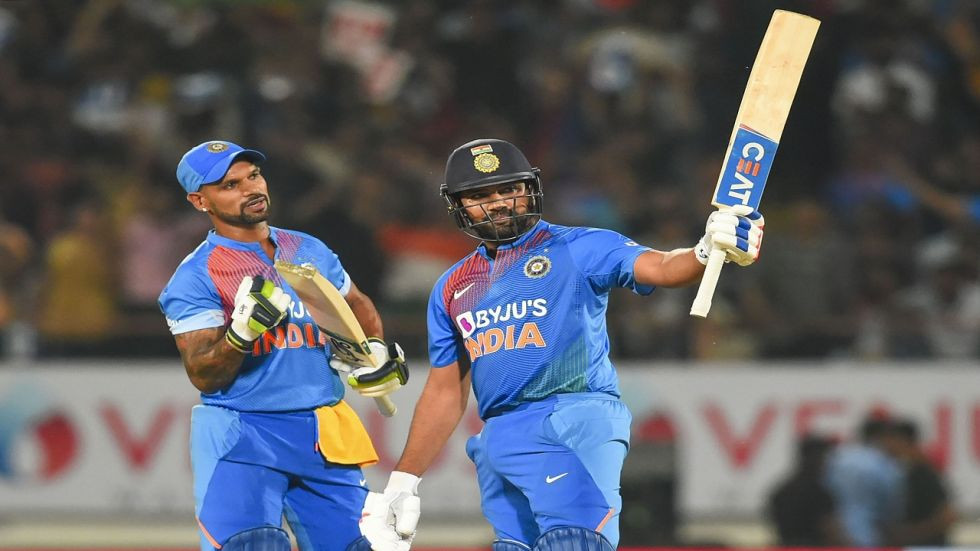Rohit Sharma blasted 85 and helped India beat Bangladesh by eight wickets to level the three-match series 1-1.