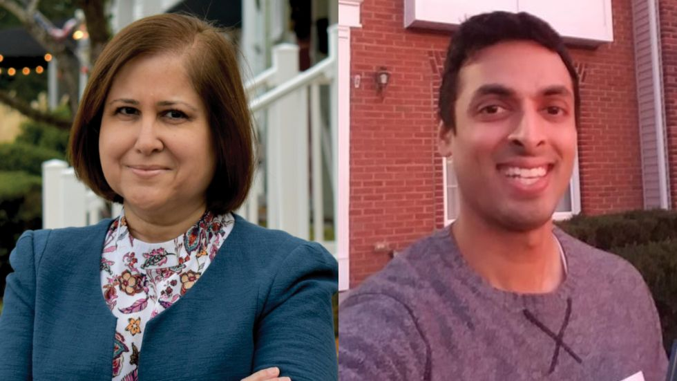 Ghazala Hashmi and Suhas Subramanyam have been elected to the Virginia State Senate and House of Representative, respectively