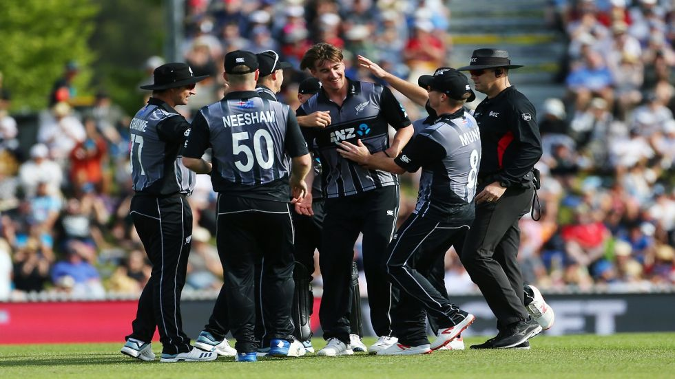 Blair Tickner made his debut against India in February 2019 and took the wicket of Rishabh Pant as New Zealand won the match by four runs to win the series 2-1.