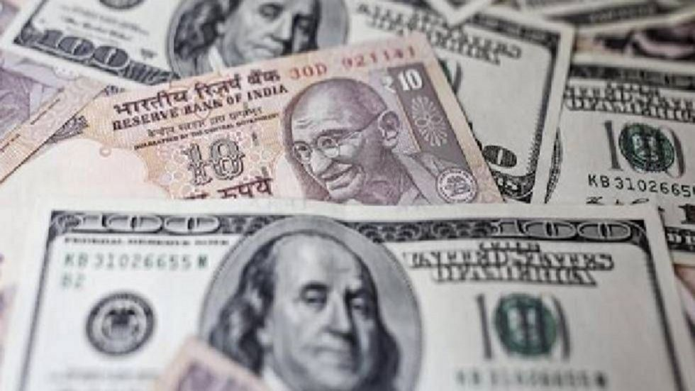 The Indian rupee opened on a cautious note and fell 30 paise to 71.27 against the US dollar in early trade on Friday.