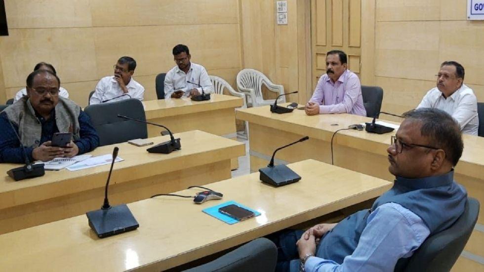 Union Cabinet Secretary Rajiv Gauba reviewed the preparedness for Cyclone Bulbul today through video conferencing