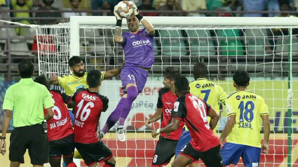 Kerala Blasters FC, who were already hampered by injuries this season, suffered a major blow in the fourth minute when captain Rodriguez went down injured.