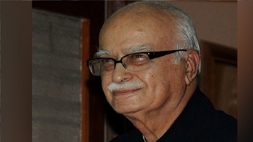 LK Advani was the face of the Ram Janmabhoomi movement in the 1990s.