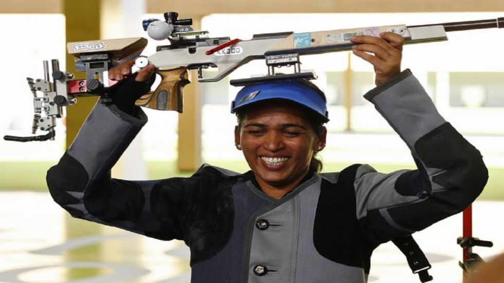 Tejaswini Sawant reached the final at fifth position after shooting 1171 in the Qualifications at the Lusail Shooting Range but, in the finals, Sawant fought well but had to be satisfied with a fourth-place finish