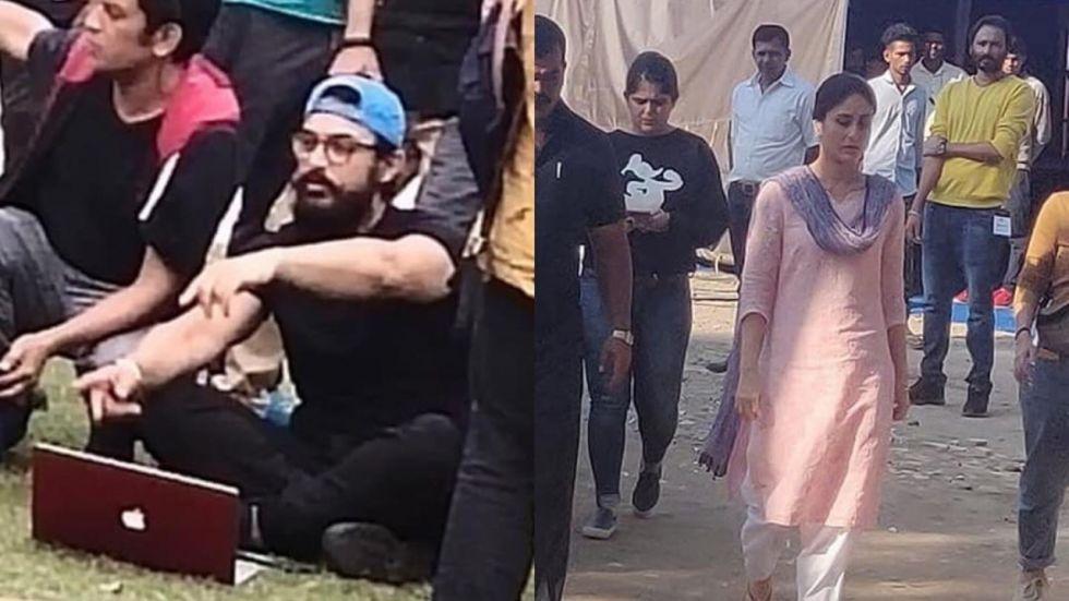 Kareena Kapoor, Aamir Khan SPOTTED On Sets Of Laal Singh Chaddha