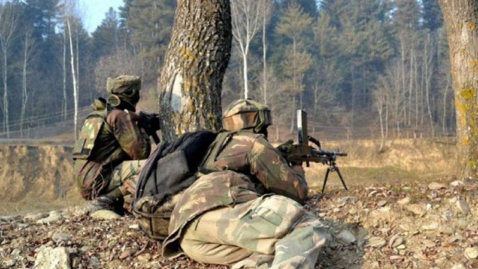 One Terrorist Gunned Down In Ongoing Encounter With Security Forces In Kashmir's Bandipora