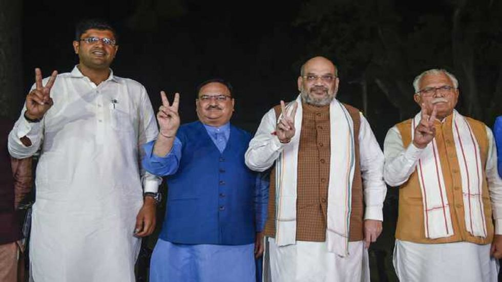 ML Khattar took oath as the CM on October 27 and Dushyant Chautala was sworn-in as his deputy as the BJP formed the government.