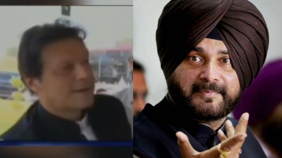 Navjot Singh Sidhu was invited by Imran Khan for Kartarpur corridor opening