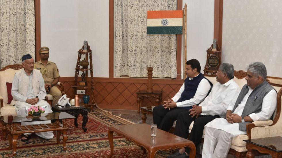Chandrakant Patil also said that BJP ally Shiv Sena disrespected the people's mandate in Maharashtra.