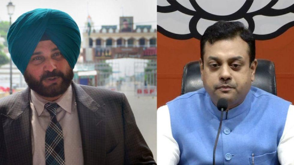 Sambit Patra criticises Navjot Singh Sidhu's remarks praising Imran Khan.