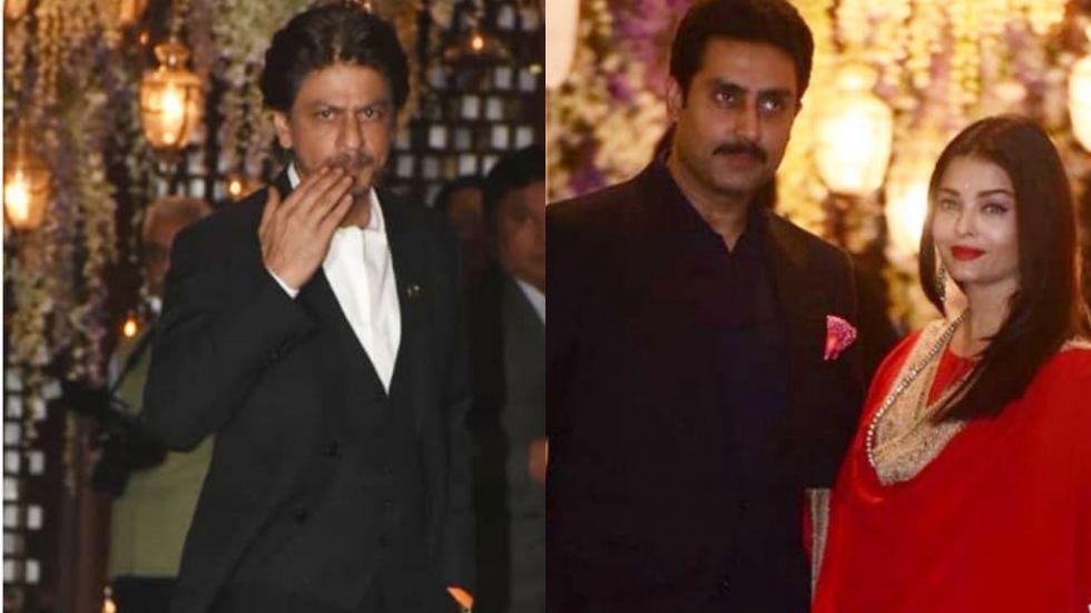 Shah Rukh, Aishwarya Rai Bachchan And Others Attend Ambani Bash.