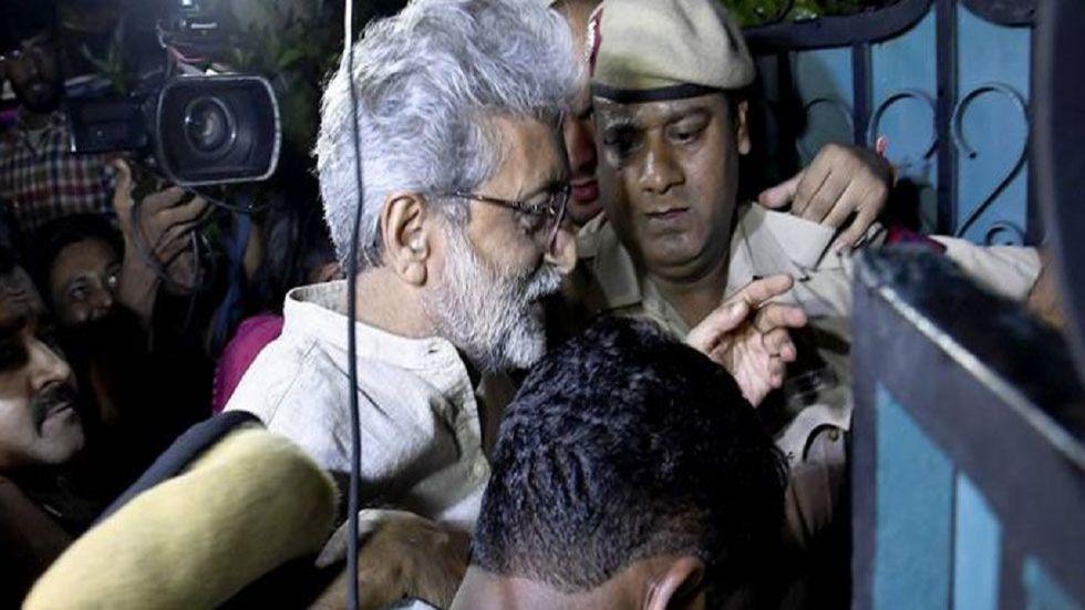 Bhima-Koregaon Case: Activist Gautam Navlakha.