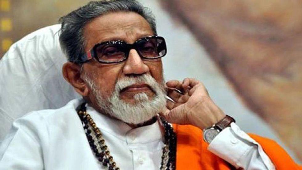 Shiv Sena founder Bal Thackeray