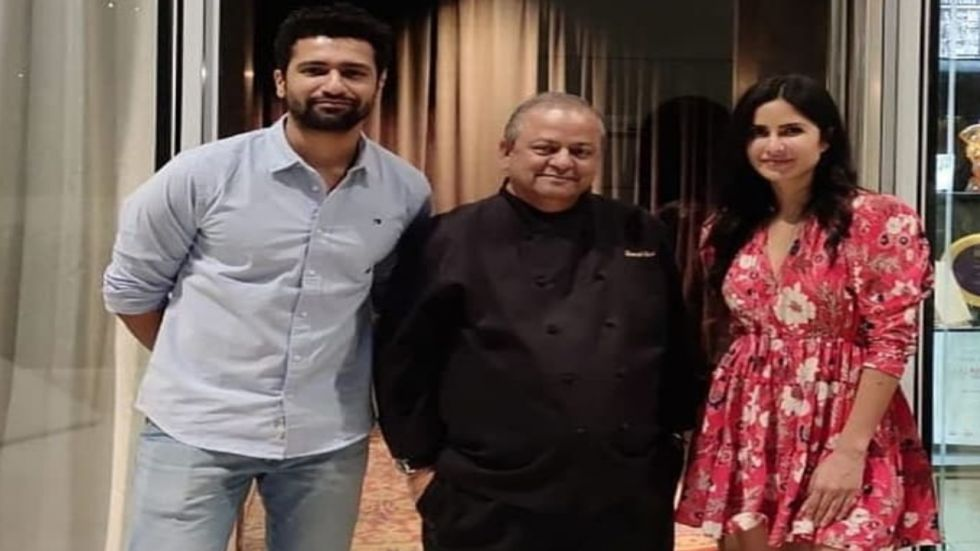 Vicky And Katrina Go For A Dinner Date At Mumbai Restaurant
