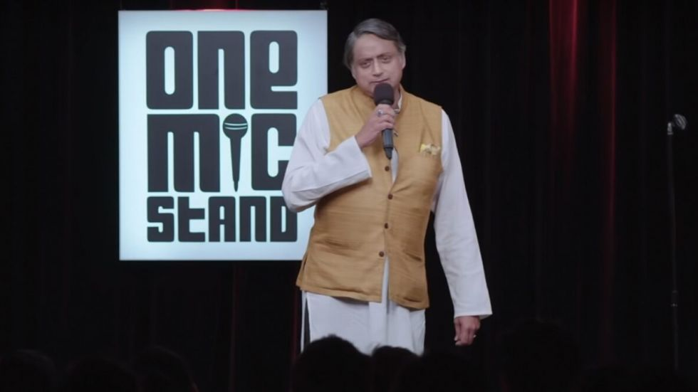 Shashi Tharoor Shares Sneak Preview Of His Act