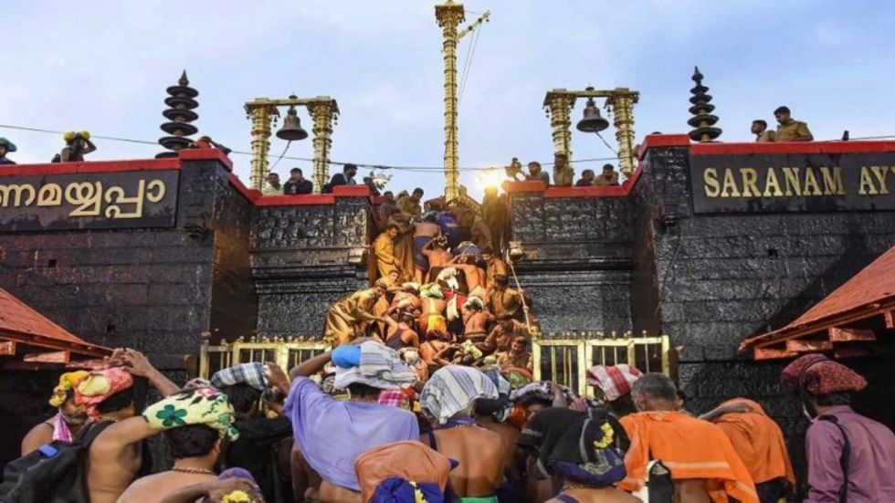 Supreme Court referred the matter related to Sabarimala temple to a larger bench