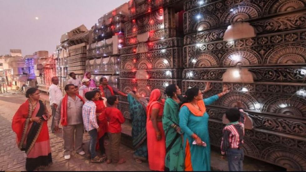 VHP spokesperson Sharad Sharma said the number of devotees visiting the workshop has spiked since the Supreme Court judgement on November 9.
