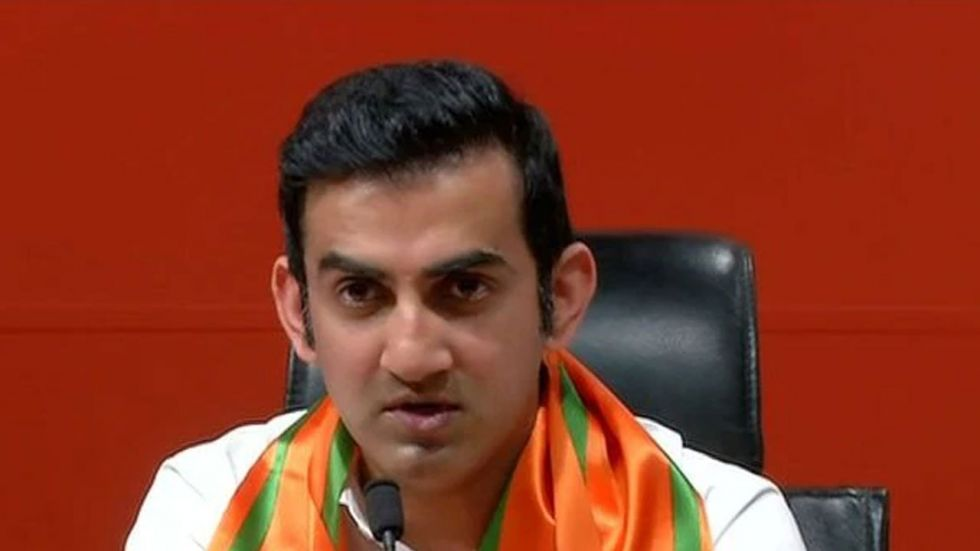 Gautam Gambhir said he is also in talks to install giant air purifiers with cutting edge technology, across the constituency.