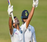 Four Consecutive Double Tons - India Cricket Team Becomes First To Achieve This Feat In Test Cricket