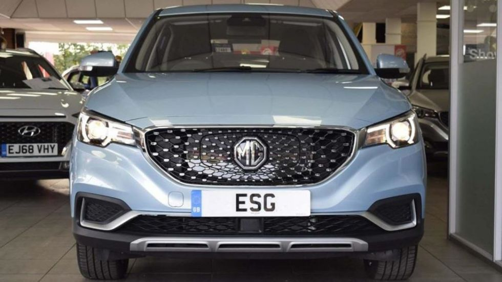MG ZS EV Coming Soon To India