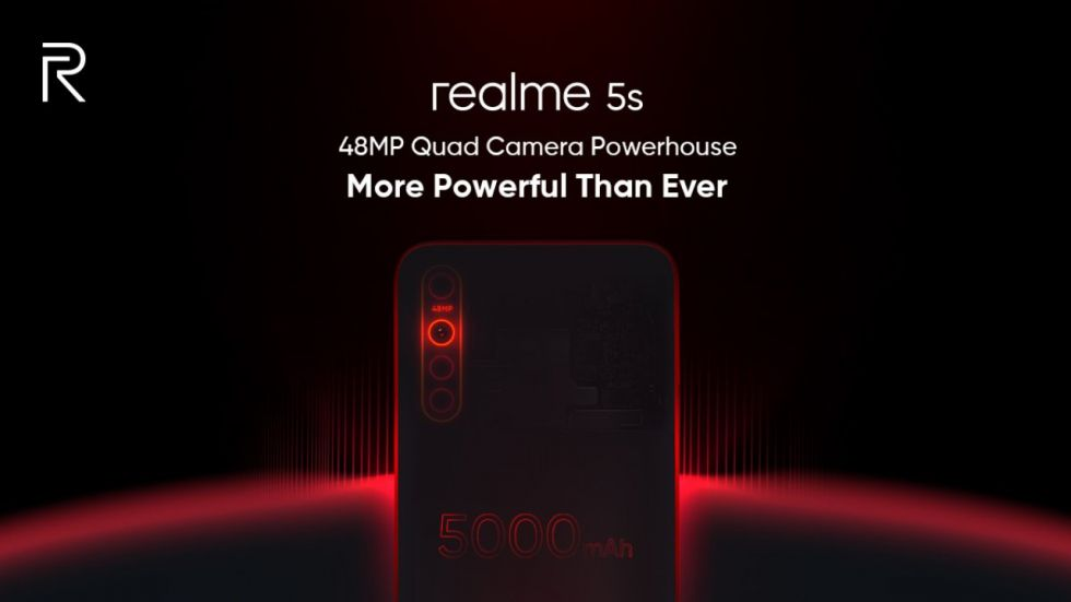 Realme 5s Launch On November 20