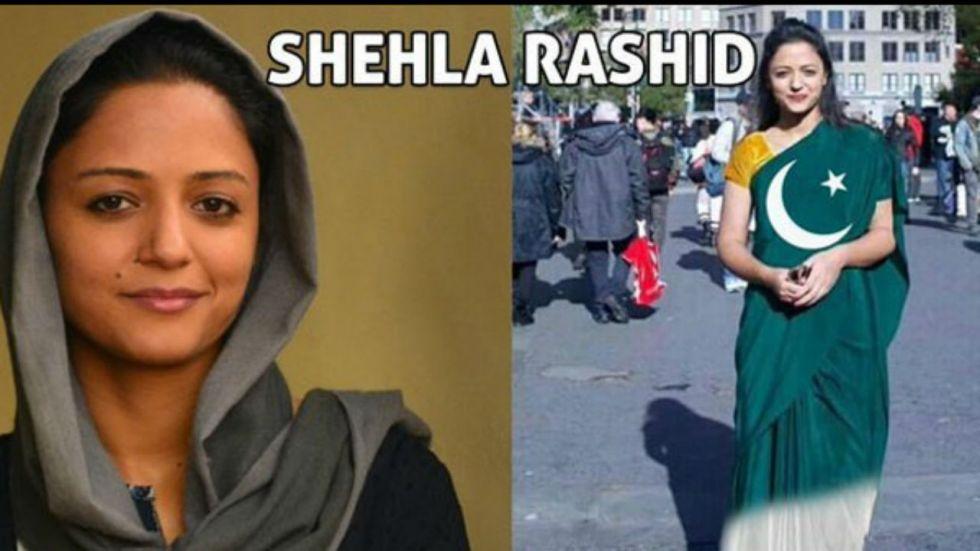 Shehla Rashid is one of the favourite targets of online trolls