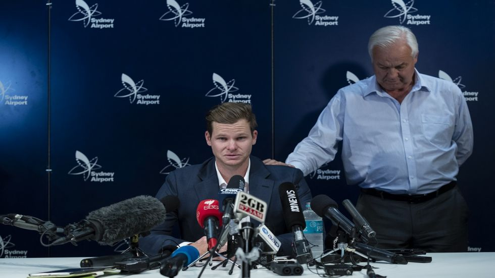 Steve Smith was banned for one year following the ball-tampering scandal during the Newlands Test against South Africa in 2018.