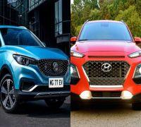 MG ZS EV Vs Hyundai Kona: Specs, Features COMPARED