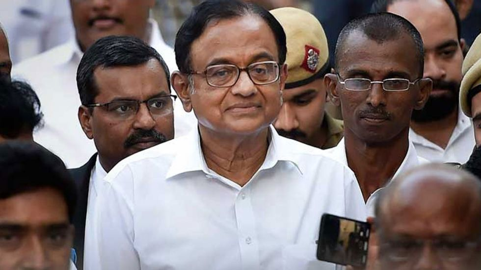INX Media Case: Chidambaram Moves Supreme Court Against Dismissal Of Bail Plea