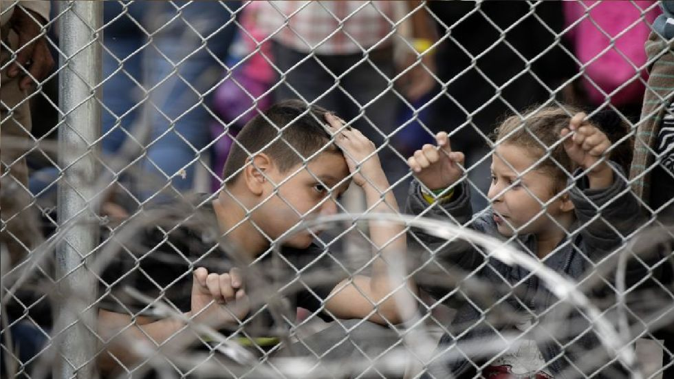 Over 100,000 children are currently being held in migration-related detention in the United States.