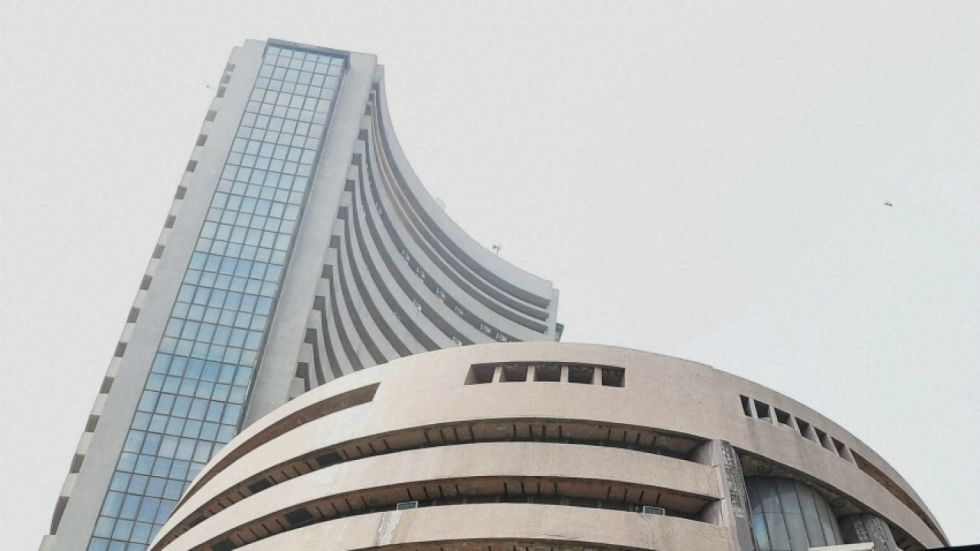 Sensex hit a high of 40,455 before paring some gains