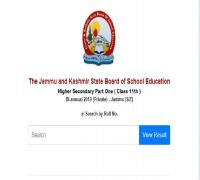 JKBOSE 11th Biannual Summer Zone Result 2019 Declared, Check At jkbose.ac.in